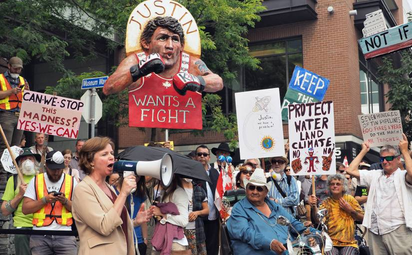 Deconstructing Violence in the Tar Sands